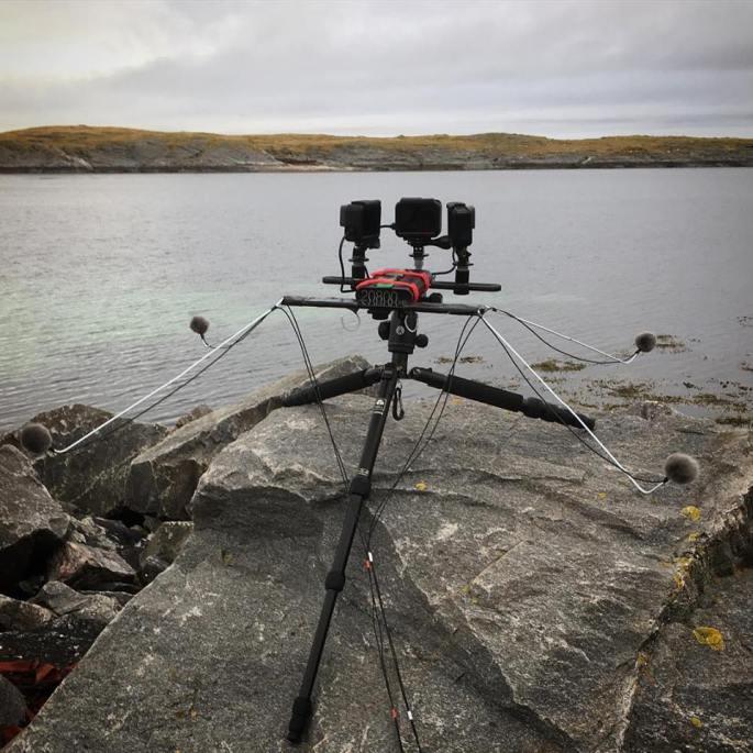 Sound recording selvær Photo Stuart MAcpeherson